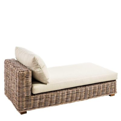 SALON RATTAN CHAISE LONGUE