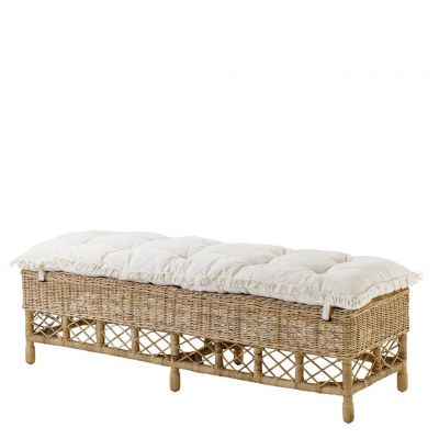 PAOLO RATTAN BENCH