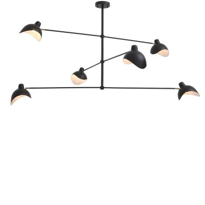 VINCENT CHANDELIER BLACK