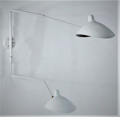 JACQUES WALL LAMP / WHITE