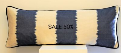 CIELO LARGO SILK IKAT CUSHION 30 x 80