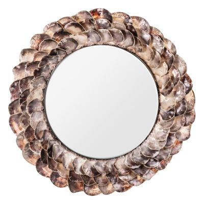 CONCHA SHELLS MIRROR
