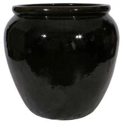 BLACK LACQUER PLANTER
