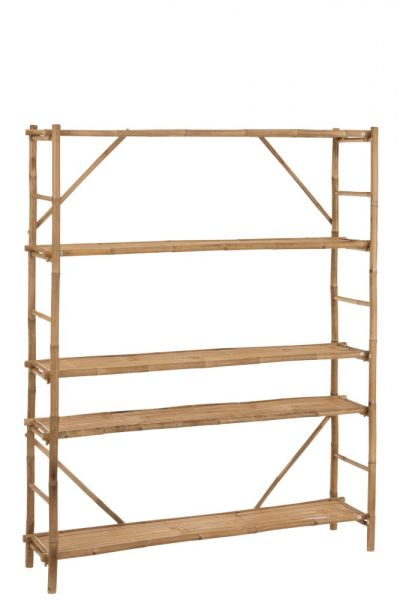 SANCORE BAMBOO SHELVING UNIT