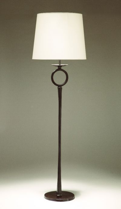 GRAND DIEGO CAST BRONZE FLOOR LAMP