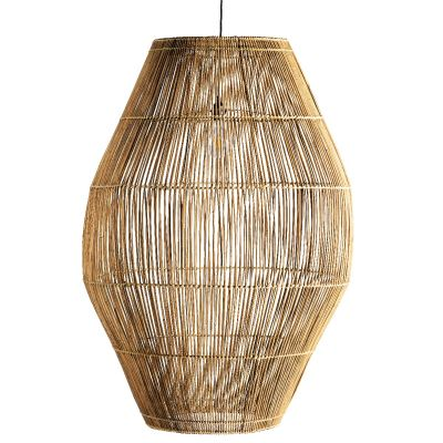 DOME RATTAN HANGING LAMP XXL