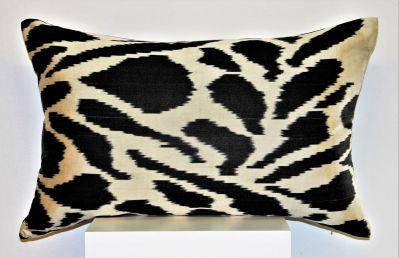 Tigre Silk Ikat Cushion