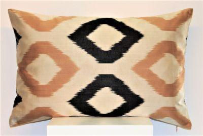 Romvos Silk Ikat Cushion