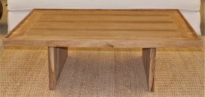 COTE  HAND CRAFTED TEAK WOOD TABLE / NATURAL