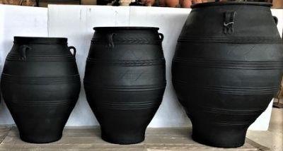 GREEK TERRACOTTA POTS