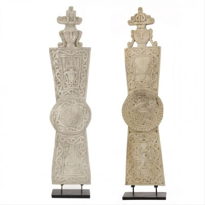 African Primitive Statues / Set 2