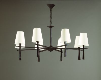 PABLO CAST BRONZE CHANDELIER