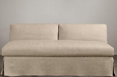 OSCAR SLIPPER SOFA / 2 SEAT