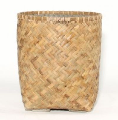 ZAYN BAMBOO AND MICROCEMENT PLANTER XL