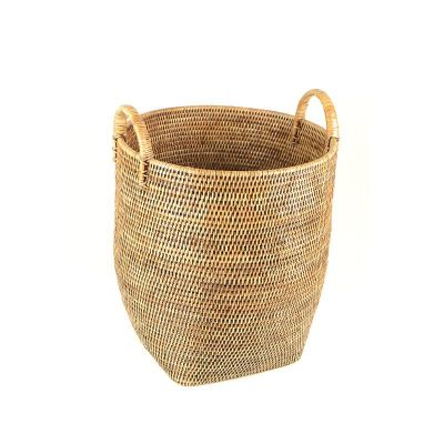 RATTAN LARGE BASKET / PLANTER