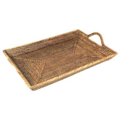 RATTAN LARGE TRAY