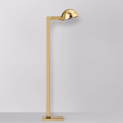 MILANO BRASS FLOOR LAMP