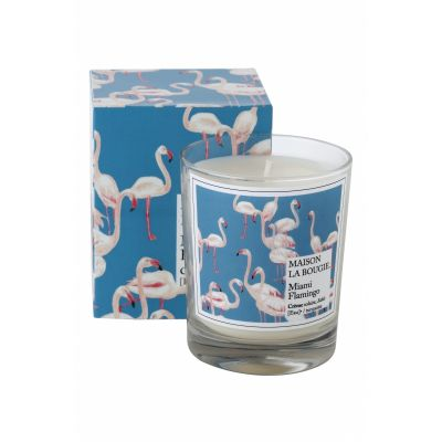 FLAMINGO SCENTED CANDLE