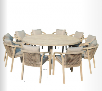 SARONA OUTDOOR DINING SET