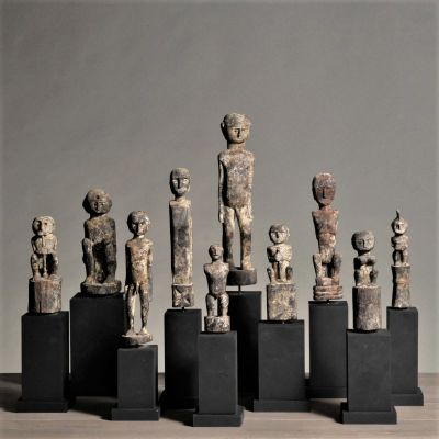 A Collection Of Statuettes ( Set of 10 )