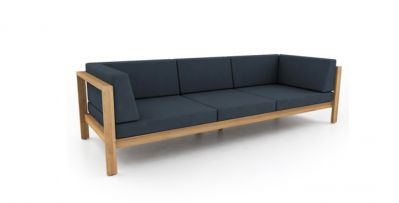 MILOS OUTDOOR SOFA 3 SEAT