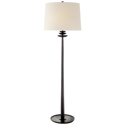 BEAUMONT FLOOR LAMP / AGED IRON
