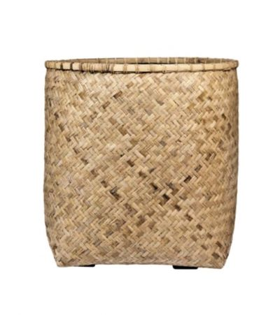 ZEN RATTAN AND MICROCEMENT PLANTERS